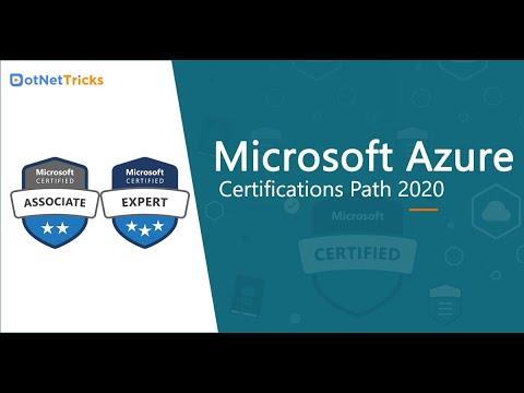 Microsoft Azure Certifications Path 2021 | Azure Certification ...