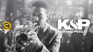 """Two seasoned jazzmen face off to see who can push his instrument to the extreme.  About Key & Peele:  Key & Peele showcases the fearless wit of stars Keegan-Michael Key and Jordan Peele as the duo takes on everything from """"Gremlins 2"""" to systemic racism. With an array of sketches as wide-reaching as they are cringingly accurate, the pair has created a bevy of classic characters, including Wendell, the players of the East/West Bowl and President Obama's Anger Translator.   Subscribe to Comedy Central: https://www.youtube.com/channel/UCUsN5ZwHx2kILm84-jPDeXw?sub_confirmation=1  Watch more Comedy Central: https://www.youtube.com/comedycentral   Follow Key & Peele: Facebook: https://www.facebook.com/KeyAndPeele/ Twitter: https://twitter.com/keyandpeele Watch full episodes of Key & Peele: http://www.cc.com/shows/key-and-peele  Follow Comedy Central: Twitter: https://twitter.com/ComedyCentral Facebook: https://www.facebook.com/ComedyCentral/ Instagram: https://www.instagram.com/comedycentral/   #KeyandPeele"""