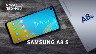 Смартфон Samsung Galaxy A8s 2018 6/128GB Blue от компании Cthp - видео 1