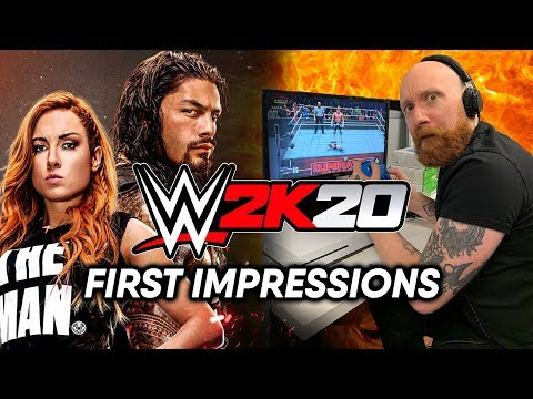WWE 2K20 First Impressions | Early Reactions To WWE 2K20 | ScreenStalker