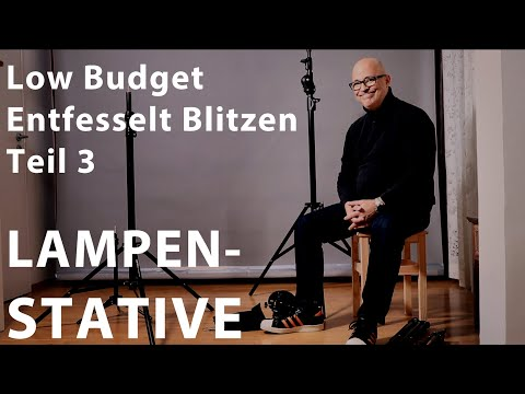 Entfesselt Blitzen Low Budget Teil 3 - Lampenstative, Manfrotto, Walimex