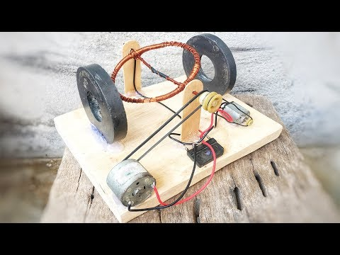 Free Energy Technology Self Running DC Motor Generator New Invention 2019