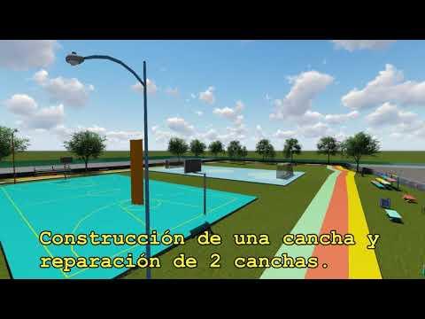 Así lucirán las nuevas instalaciones deportivas y recreativas en el Malecón de Granada