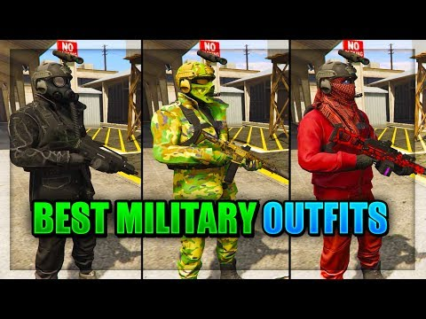 *NEW* TOP 3 SMUGGLER'S RUN MILITARY/COMBAT OUTFITS 1.41! (GTA 5 Online Best Clothing Glitches 1.41)