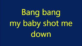 Shot me down David Guetta ft  Skylar Grey with lyrics