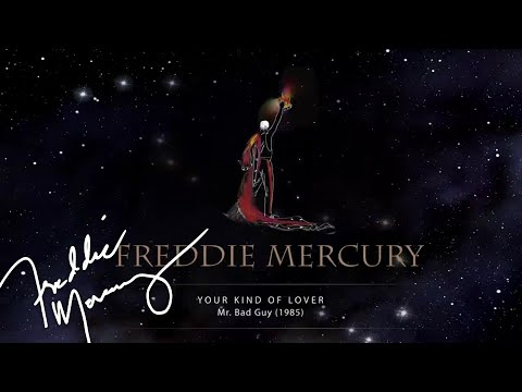 Freddie Mercury - Your Kind Of Lover (Official Lyric Video)