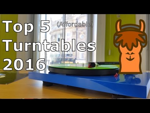 Top 5 Affordable Turntables 2016