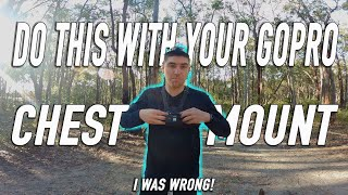 YOU'RE USING YOUR GOPRO CHEST MOUNT WRONG & IT'S MY FAULT 😰GOPRO CHEST MOUNT TIP YOU NEED TO KNOW