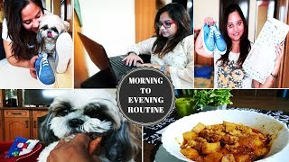 Indian Petmom Thursday Vlog | Morning To Evening Routine | MommyNFlurry Tale | Amazon shopping