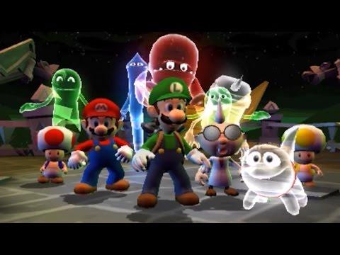 Luigi&#39s Mansion: Dark Moon - All Bosses (3 Star Rank/No Damage)