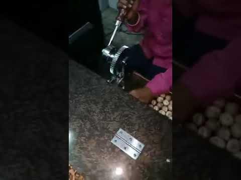 Semi Automatic Double Supari Cutting Machine