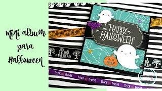 Tutorial Mini album Halloween * Creaciones Izzy
