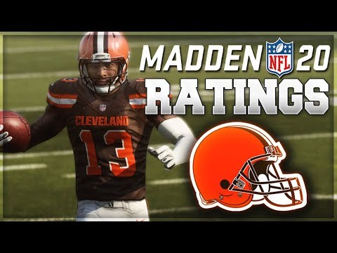 Browns Are The Most OP Madden 20 Team | Cleveland Browns Madden 20 Ratings Predictions