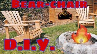 Gartenstuhl / Adirondack / Bear Chair selber bauen