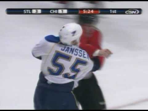 Cam Janssen vs Ben Eager