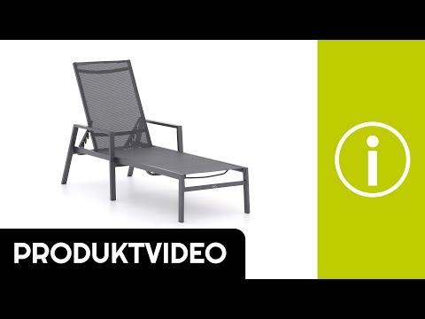 Produktvideo R&S Design Burgos Gartenliege stapelbar   Kees Smit Gartenmöbel
