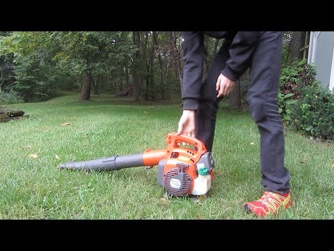 Husqvarna 125B Leaf Blower Review