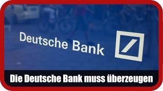 DEUTSCHE BANK AG NA O.N. - Marktanalyst Salcher: Die Deutsche Bank muss jetzt im Kerngeschäft überzeugen