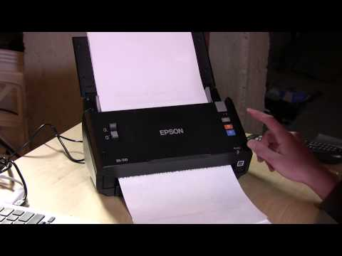 Epson DS-510 Workforce Document Scanner – Compared to Fujitsu Scansnap ix500