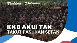 400 Pasukan Setan Datang ke Papua, KKB: Berapa pun Kami Layani, Kalian Tidak akan Bisa Keluar