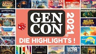GenCon 2021 - 4 Wochen vor Essen: Die ersten Highlights und interessanten Spiele