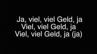 Veysel & Mozzik   Ti Amo I Lyrics
