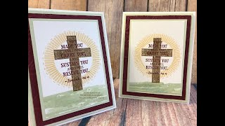 Hold on to Hope Easter Card Stampin' Up!