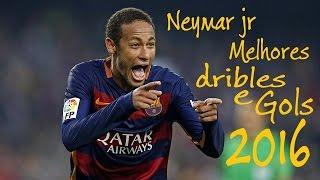 Neymar Jr• melhores dribles e gols 2016 HD