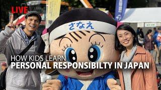 How kids learn Personal Responsibilty in Japan
