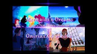 Mermaids's Dreams Pt.1 - A Jasmine, Meg and Aurora's story || Disney/Non Disney crossover