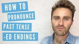 English Pronunciation |  How to Pronounce Past Tense -ED Endings