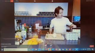 Food & Hotel Digital Week Virtual Cocktails from Bangkok - with: Mixologist Ben-David Sorum