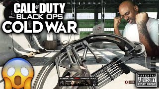 I Unlocked the CROSSBOW in COLD WAR and THIS HAPPENED!....R1 Shadowhunter Gameplay BLACK OPS