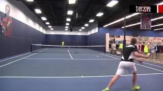 Ρακέτα τέννις Prince Blue LS 110 video