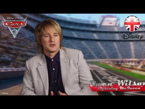 CARS 3 | Owen Wilson And Cast Pay Tribute To The Legendary Lightning McQueen | Official Disney UK