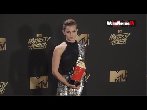 Emma Watson attends 2017 MTV Movie And TV Awards
