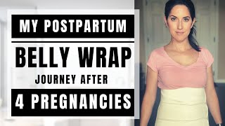 Do Postpartum Belly Wraps Really Work? My Postpartum Belly Wrap Journey After 4 Pregnancies