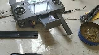 Coba ganti isinya dengan antena fpv drone syma