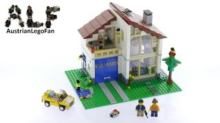 Lego Creator 31012 Family Home - Lego Speed Build Review