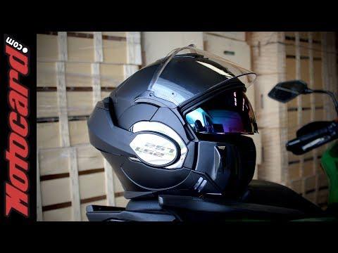 LS2 Valiant: análisis del casco modular en Motocard.com