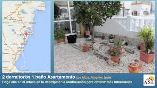 preview picture of video '2 dormitorios 1 baño Apartamento se Vende en Los Altos, Alicante, Spain'