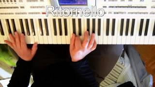 A Me Piace 'O Blues - Pino Daniele TUTORIAL Per E.Piano alla guarda e suoni