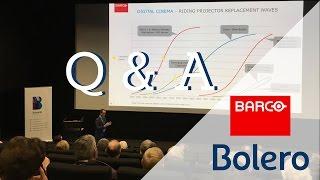 Op de eerste rij bij Barco: Q&A