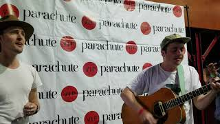 Parachute Finally Got It Right, Acoustic