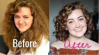 I Didn't Know My Hair Was Curly! - Curly Hair Journey