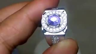 PURPLE SAFIR CEYLON - SAPPHIRE SRILANKA - Ada Natural Berlian - Diamond - Blue - Star -  Ruby Birma - Topaz - Tsavorite Garnet - Spinel - Sphene
