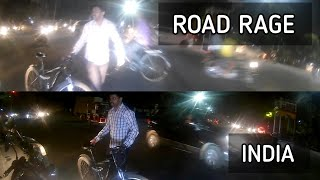ROAD RAGE INDIA   Angry Bicycle Rider smashed Biker   Accident #InstantKarma