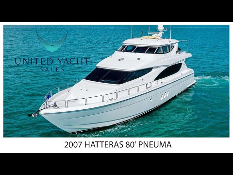 Hatteras 80 Motor Yacht video