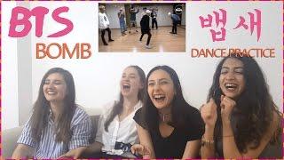 BANGTAN BOMB - BAEBSAE DANCE PRACTICE REACTION