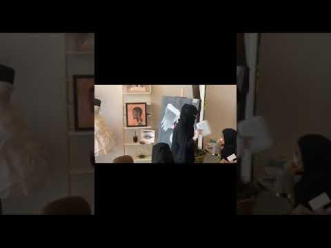 يونايتد الطائف ينظم فعالية الرسم والمكياج السينمائي